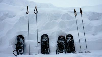 snowshoes ponte di legno